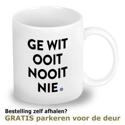 Mok Den Bosch: Ge Wit Ooit Nooit Nie
